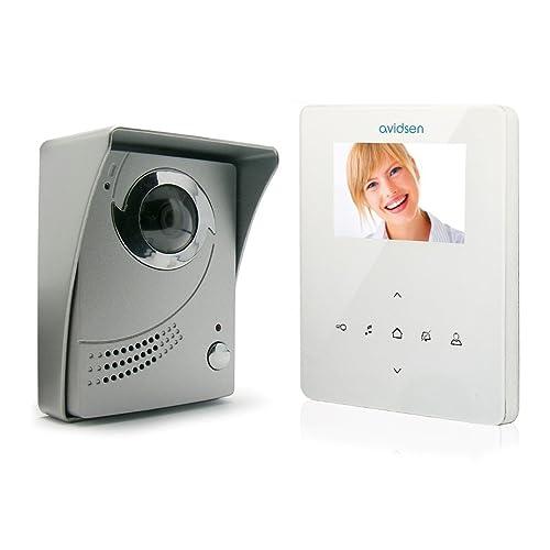 AVIDSEN - 102200 - INTERPHONE VIDEO PLAT BLANC