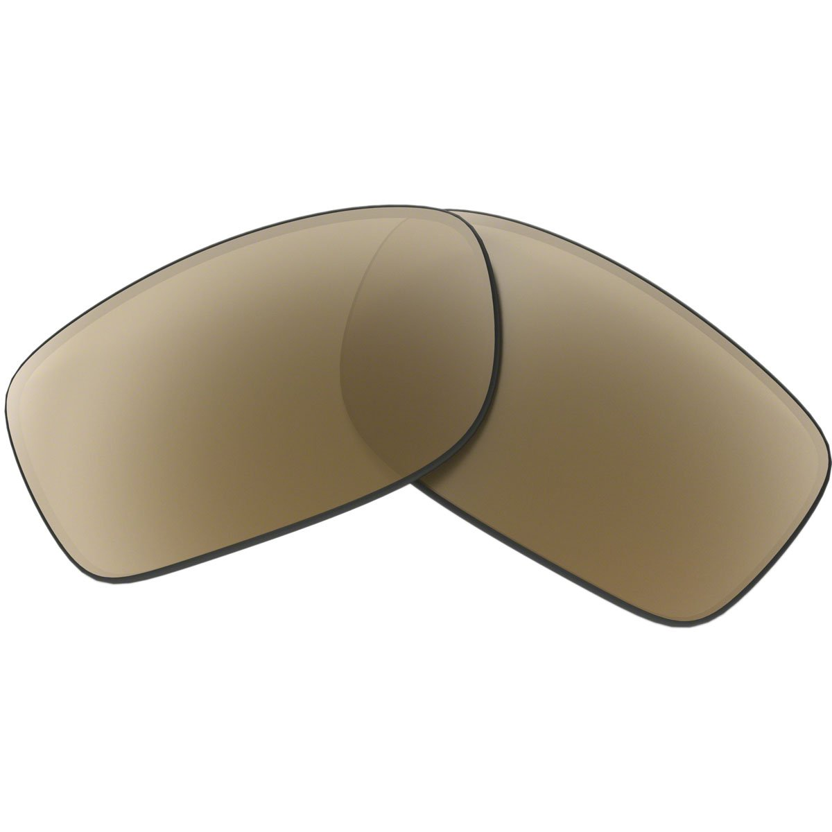 Oakley Fives Squared/Fives 3.0 Men's Active Replacement Lens Lifestyle Sunglass Accessories - Bronze Polarized / One Size by Oakley