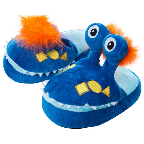 Silly Slippeez - Mr. Monster - Glow in the Dark - XS