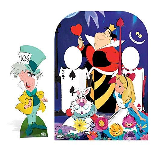 Disney Queen of Hearts Kinder Aufsteller Mehrfarbig Karton 131 x 95 x 131 cm