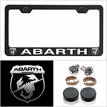 2X Mazda 6 Stainless Steel License Plate Frame Rust Free W// Caps