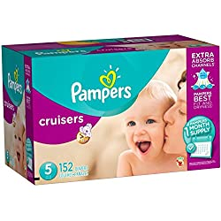 Pampers Cruisers Diapers Size 5, 152 Count