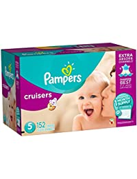 Pampers Cruisers Disposable Diapers Size 5, 152 Count, ONE MONTH SUPPLY BOBEBE Online Baby Store From New York to Miami and Los Angeles