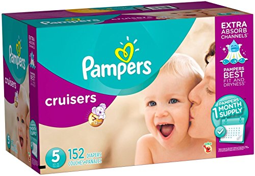 pampers cruisers size 1 - 3