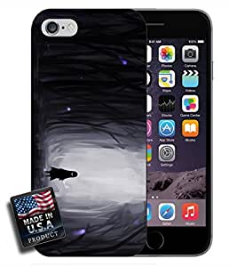 Lone Girl In Dark Forest Videogame Scary Night iPhone 6 Hard Case