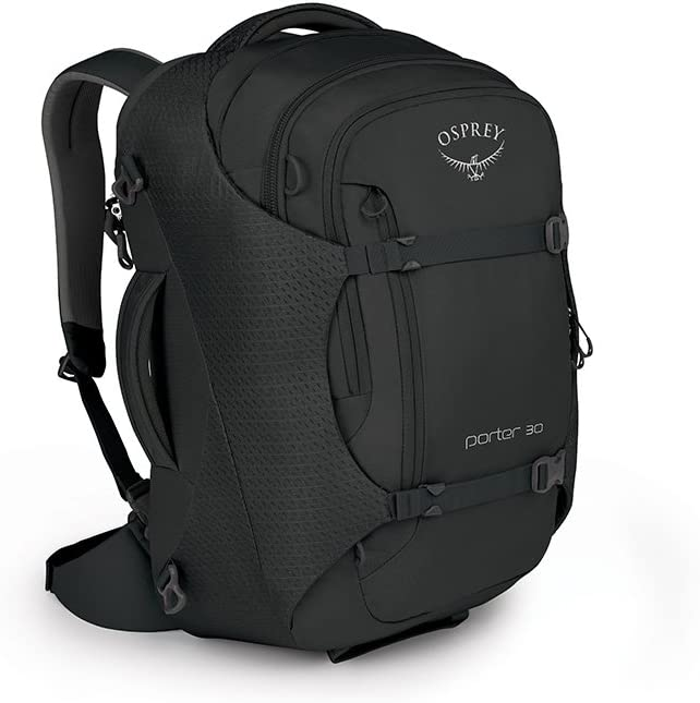 The Osprey Porter 30 travel product recommended by Timothy Carlson on Lifney.