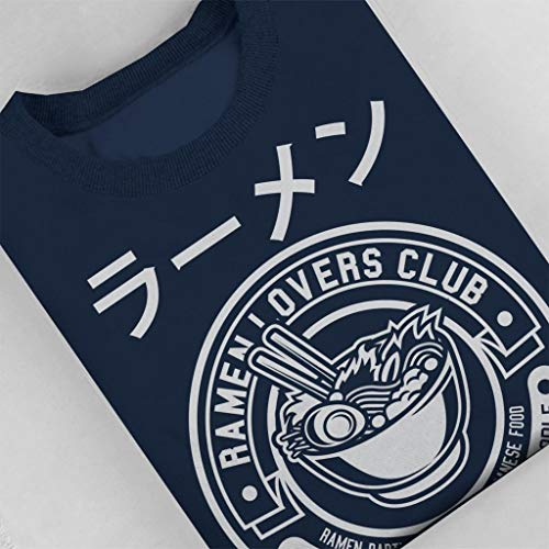 Women's Navy Blue Lovers Ramen Sweatshirt Club Coto7 wS4Oq8C