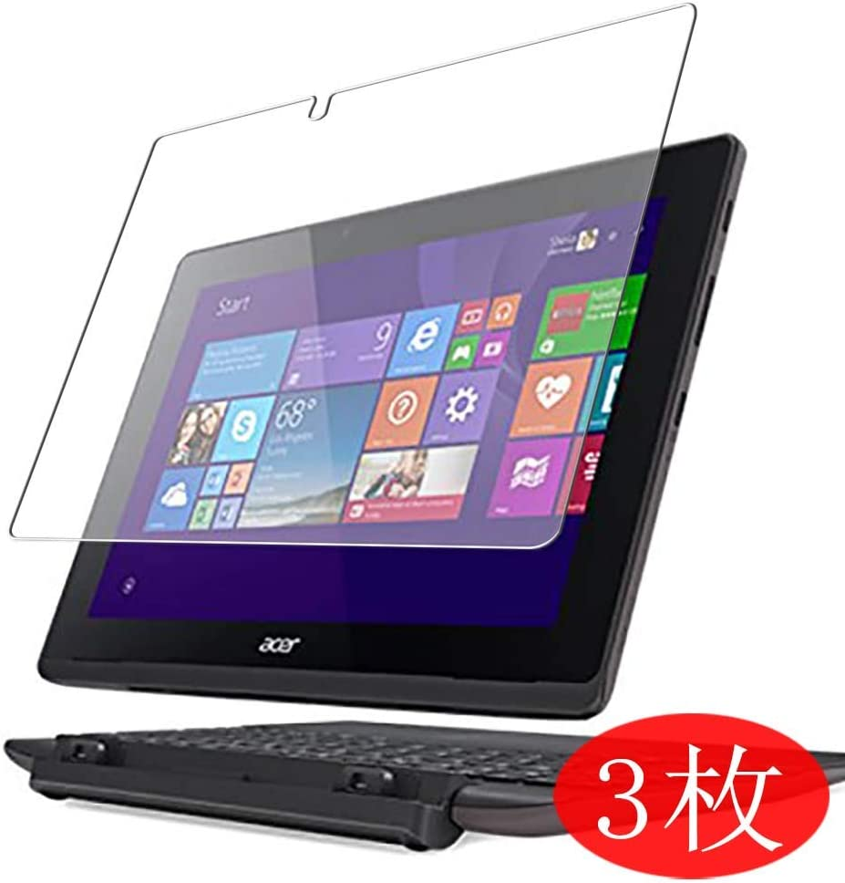 "【3 Pack】 Synvy Screen Protector for Acer Aspire Switch 10 E SW3-016-F12D 2in1 10.1"" TPU Flexible HD Clear Case-Friendly Film Protective Protectors [Not Tempered Glass] New Version"