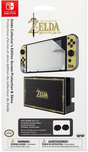 Nintendo Switch Zelda Collector's Edition Screen Protection & Skins by PDP by PDP
