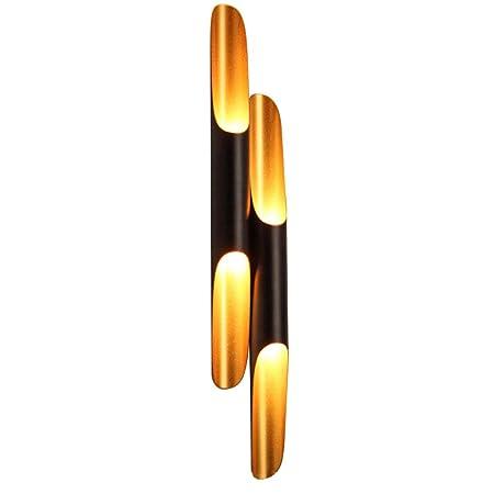 WQlry Lámpara de Pared, luz de bambú de bambú Moderna del Tubo del ...