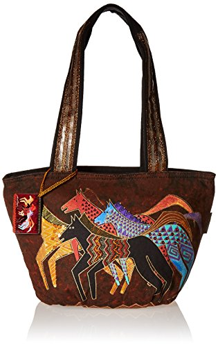 Laurel Burch Medium Tote Zipper Top 13, 3/4-Inch by 6-Inch by 9, 3/4-Inch, Native -