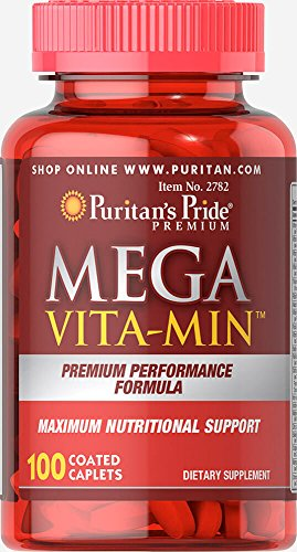 (Puritan's Pride Mega Vita-Min Multivitamin-100 Caplets)