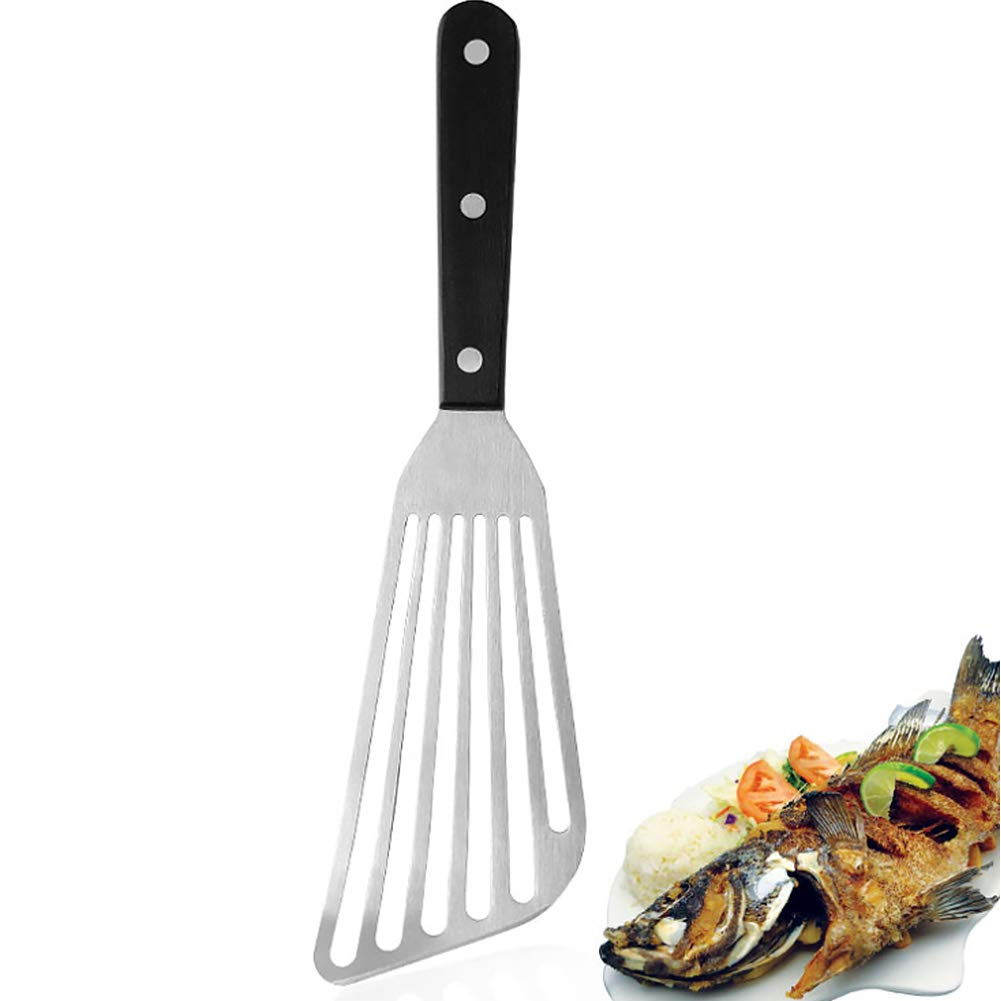 Espátula profesional de acero inoxidable para cortar peces, pala ...