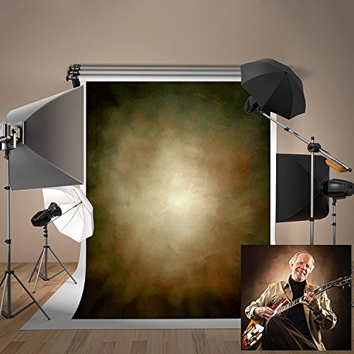 5ft(W) x7ft(H) Portrait Texture Photo Backdrops Brown Abstract Grunge Background Microfiber Photo Studio Props for Photographer Teenager Adult -