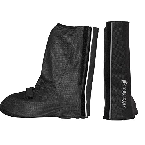 Ultralight Wading Shoe (Frogg Toggs FF112-01SM/MD Frogg' Waterproof Overshoe, Black)