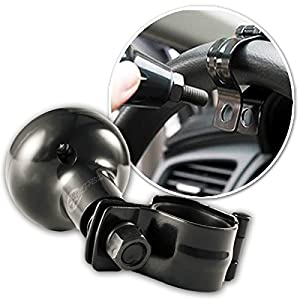 Custom Autos Steering Wheel Spinner - Universal Fit Steering Wheel Spinner with Power Handles