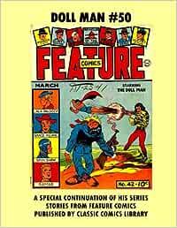 Dollman Comics #50: Email Request Classic Comics Library Catalog