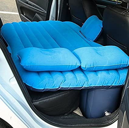 New Car Air Mattress Travel Bed Back Seat Cover Inflatable Good Quality