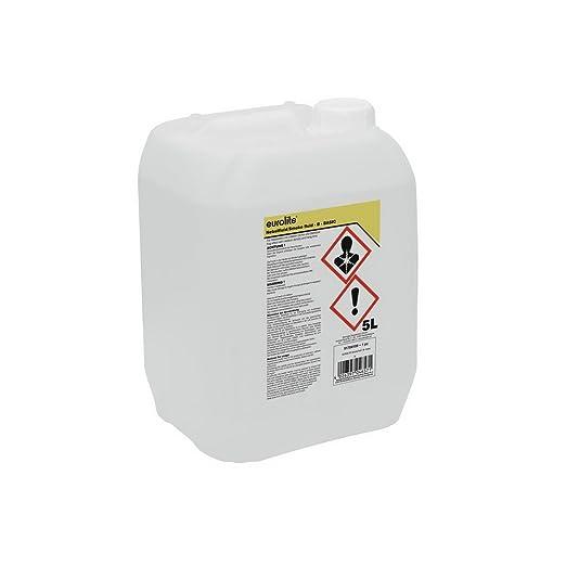 17 opinioni per Eurolite Smoke Fluid B (Basic), Liquido per macchina del fumo/nebbia, 5L
