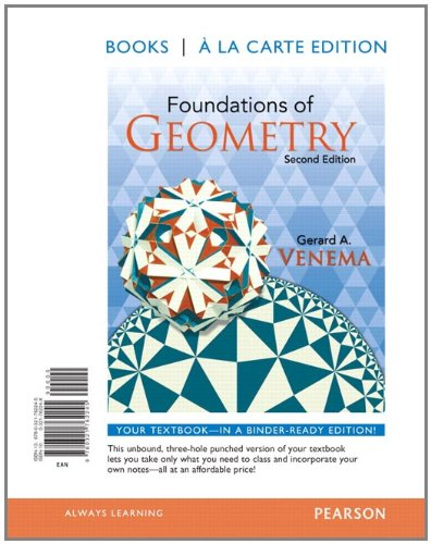 Foundations of Geometry, Books a la Carte Edition (2nd Edition)