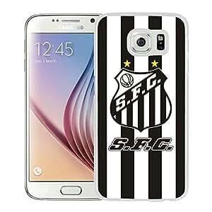 Unique Custom Designed Cover Case For Samsung Galaxy S6 With Santos White Phone Case 1