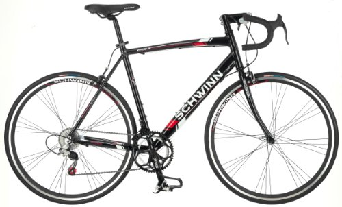 700c Mens Road Bicycle (Schwinn Men's Phocus 1400 700C Drop Bar Road Bicycle, Black, 18-Inch)