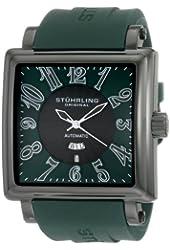 Stuhrling Original Men's 149CXL.3356D5 Leisure Manchester Ozzie Grand Automatic Green Dial Watch