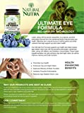 Natural Nutra Ultimate Eye Formula with Lutein Blueberry and Bilberry Extract Macular Degeneration and Night Vision Supplement 30 Capsules Discount