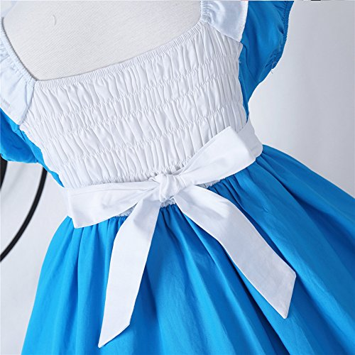 JiaDuo Little Girls Princess Alice Dress Up Cotton Halloween Costumes 130 by JiaDuo (Image #2)