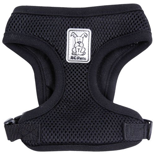 RC Pet Products Cirque Soft Walking Dog Harness: XSmall Black, My Pet Supplies