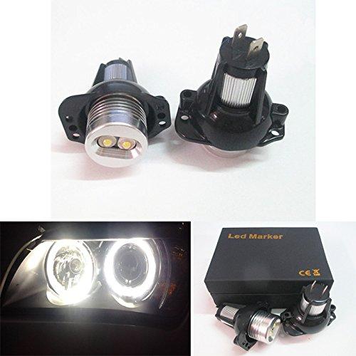 63117161444Angel Eye Halo Anneau LED MARKER ampoule Xenon Blanc