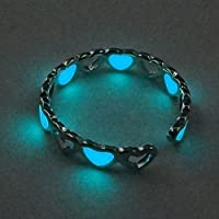 Sumanee Out Glow In The Dark Couples Rings Glowing Rings Finger Ring Luminous Ring