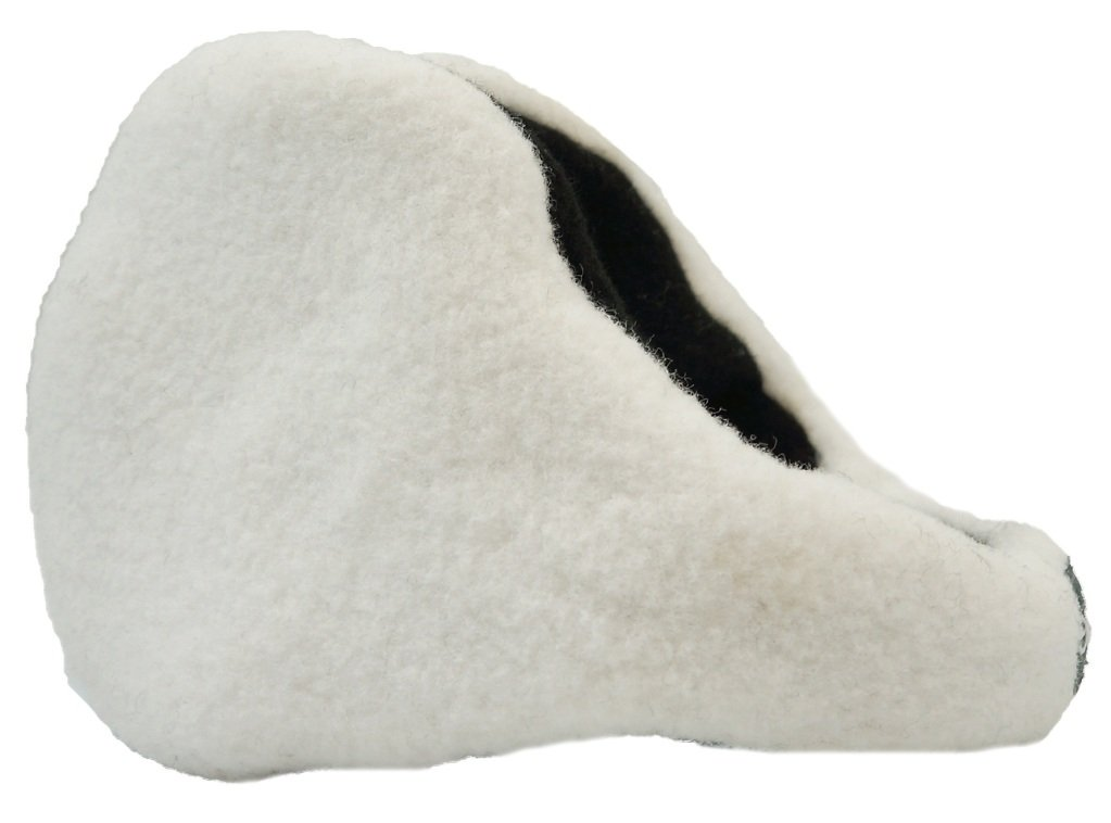 180s From The Blue Women's Stretch Fleece Adjustable Ear Warmer - Snow White (One Size)