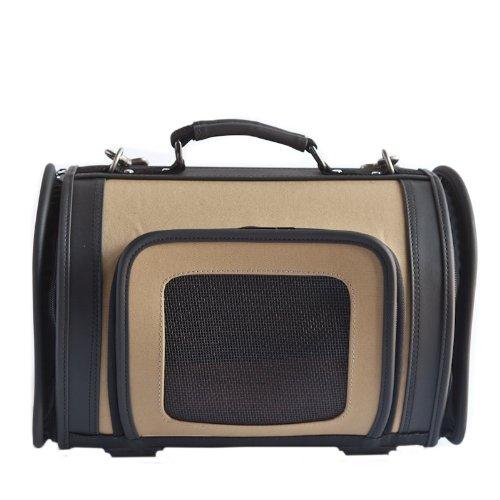 Petote Kelle Pet Travel Bag, Tan, Small