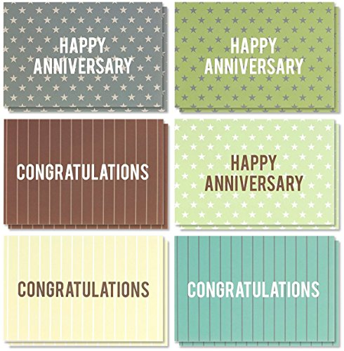 Best Paper Products 36 Pack Anniversary Cards Congratulation