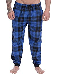 Wanted Men's Soft Cotton Flannel Pajama Lounge Jogger Pant