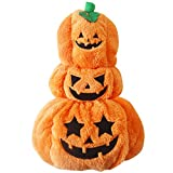 NACOCO Pet Costumes Halloween Pumpkin Dog Costumes Puppy Dog Clothes (Large)