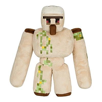 "JINX Minecraft Iron Golem Plush Stuffed Toy (Multi-Color, 13.5"" Tall) with Display Box"