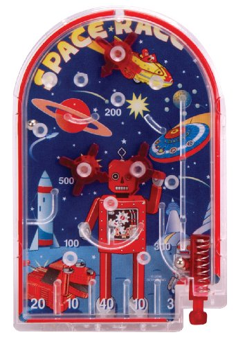 Schylling Space Race Pinball Toy Space Pinball Games