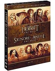 Il Signore degli Anelli/Lo Hobbit 6 Film Theatrical Version (6 DVD)