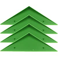 LIOOBO 4Pcs Foosball Table Triangle Corner Edge Table Football Edge Protector