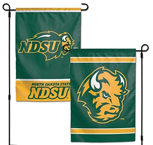 (WinCraft NCAA North Dakota State University 12x18 Inch 2-Sided Outdoor Garden Flag Banner)