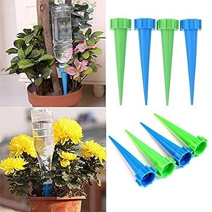 starnearby automático jardín cono picos de riego botella de planta flor regadera riego