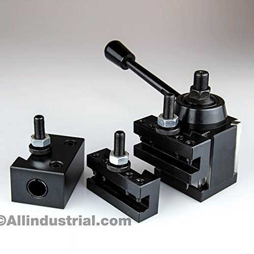 4 PC AXA WEDGE TOOL POST INTRO SET CNC TURNING,FACING, & BORING LATHE HOLDERS by All Industrial