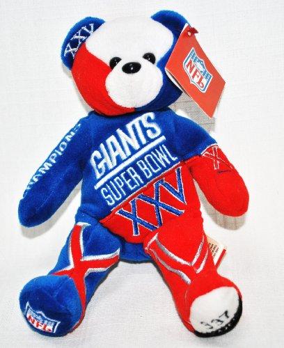 Giants Teddy Bears New York Giants Teddy Bear Giants