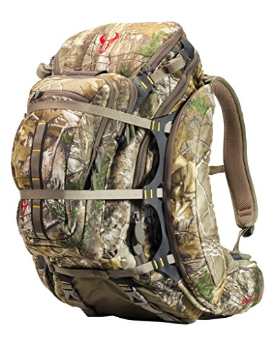 Badlands Clutch Camouflage Hunting Pack - Bow and Rifle Compatible, Realtree Xtra