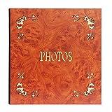 Retro Interstitial Photo Album | Memorial Album Can Store 400 Photos (Color : Style1, Size : 35X33X4.5CM)