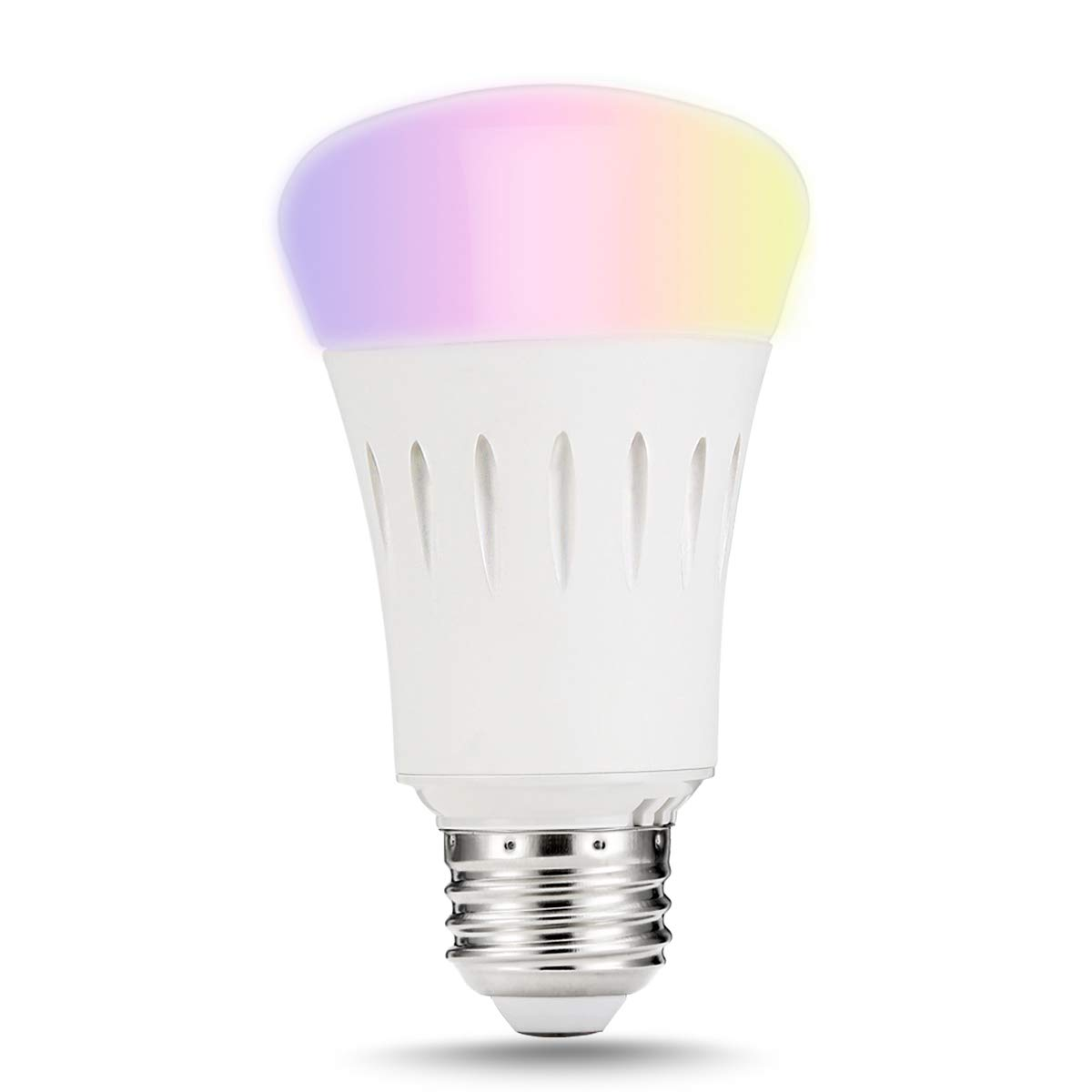 Lohas Smart Led Bulb Wi Fi Light Multicolored Bulbsul Listed Wiring Diagram For Dual Bars Free Download A19 Dimmable 60w Equivalent9w Smartphone Controlled Daylight Night