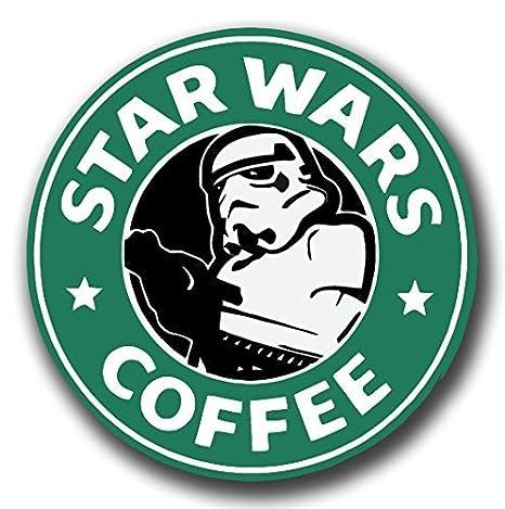 STARBUCKS/STAR WARS café vinilo adhesivo para patinetes ...