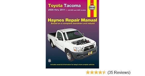 2010 toyota tacoma factory service manual